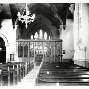 St Martins Church, interior, 1910