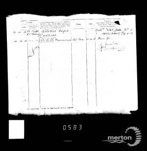 Casualty Record 3 - William Thomas MacFarlane