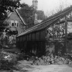 Camouflet Damage to Harton Cemetery