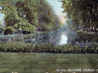 Merton Priory, Grounds and Pond