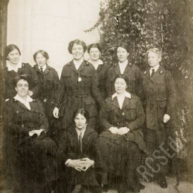 Scottish Women's Hospitals for Foreign Service and WW1 Field Hospital