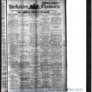 Berkshire Chronicle Reading 12-1918