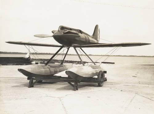 'Golden Arrow' Gloster VI seaplane: Napier