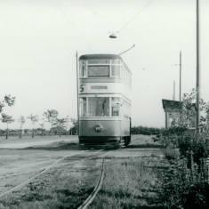 South Shields Corporation Tram car no. 50