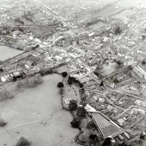 Li13833 Ledbury Aerial View 1966-7.jpg