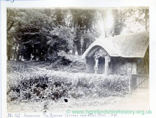 The Russian Cottage near Offas Dyke, 1891