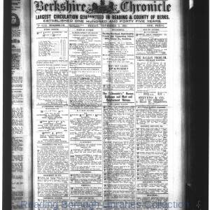 Berkshire Chronicle Reading 11-1915