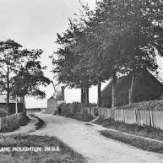 1870 circa Windmill and Steam Corn Mill at the End of Mill Road Houghton Regis