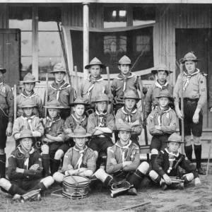 Grenoside Boy Scouts 1908-9