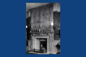 Eagle House, Wimbledon: Hall chimneypiece