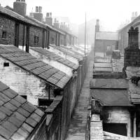 Back View Johnstone and Mann Street Bootle