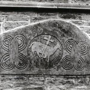 Byton Church, Herefordshire, Norman tympanum