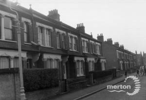 Gilbert Road, Colliers Wood: south side