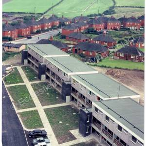 Harvey Road and Birch Avenue, from Chapeltown Flats 1960s