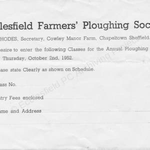 web ecclesfield ploughing 1952