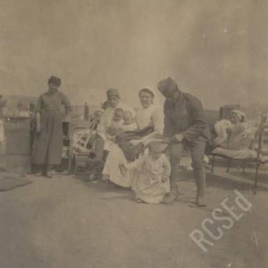 SWH Nurse with Children from Monaitiv?