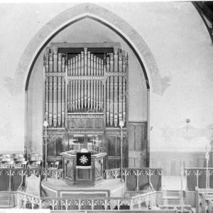 Methodist Chapel, High Green, interior.