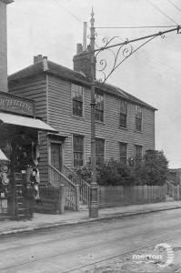 London House, London Road, Mitcham:  Adjoining T. Francis' premises