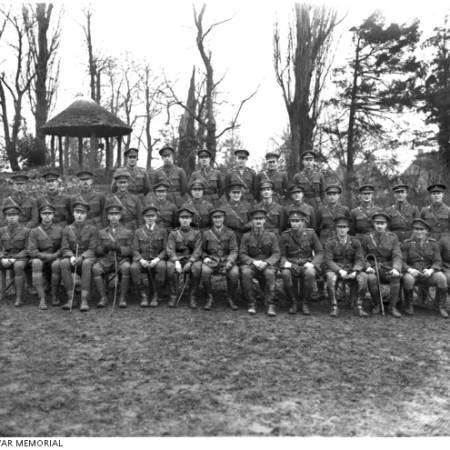Group Portrait of the Officers of the 11th Battalion A.I.F.