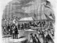 Queen Victoria opens the first National Rifle Association Championship