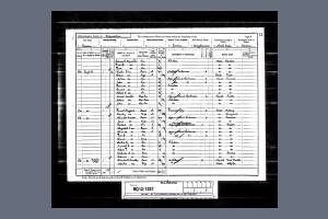 1891 Census for 80 High Street, Henlow, Bedfordshire
