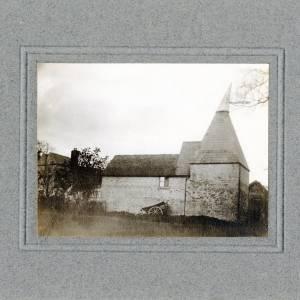 Aylton Court Farm, hop kiln, 1910