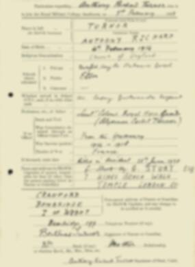 RMC Form 18A Personal Detail Sheets Feb & Sept 1933 Intake - page 139