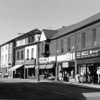 Shopping area, 5 - 15 Liverpool Road Crosby 1986