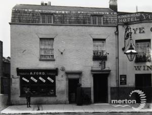 Merton High Street: A.Ford, Fruiterer & Greengrocer
