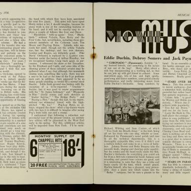 Musical News And Dance Band Vol.1 No.5 February 1936 0004