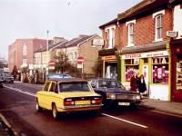 Cars in Kingston Road