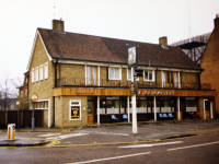The  Cricketers, London Road, Mitcham. Rebuilt after World War II