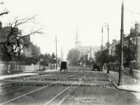 Worple Road, Wimbledon: Malcolm Road on the left and Tabor Road on the right