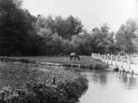 The River Wandle and Pickle Path, Colliers Wood.