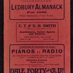 Tilley's Ledbury Almanack 1943
