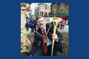 Councillor Ian Munn, Mayor of Merton