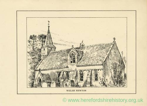 Welsh Newton, St Mary's Church