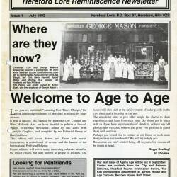 In Our Age - Herefordshire Lore archive
