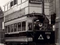 Tram with covered top, Wimbledon