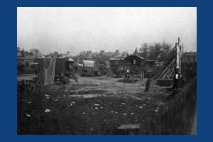 Plough Lane, Wimbledon: Gypsy site