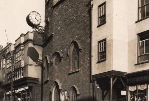 St. John's Church, c1935, Exeter
