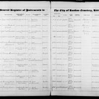 Burial Register 81 - January 1940 to May 1941