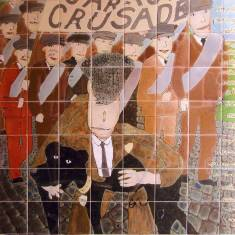 Jarrow Crusade Mural, Viking Centre Jarrow