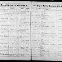 Burial Register 70 - November 1920 to August 1922