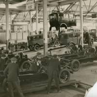Morris Motor works
