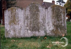 Gravestone of Mary Ann Susannae and Nelson's Gardener