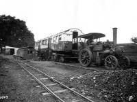 Arrival of new rolling stock at Morden Underground Depot