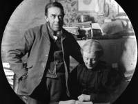 John R Chart and his wife Mary pictured at their family home