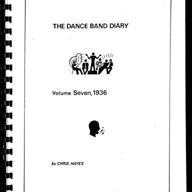 Dance Band Diaries Volume 7 1936