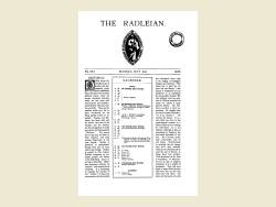 The Radleian 1933 - No. 532 July